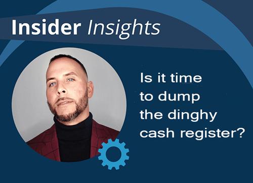 Insider Insights dinghy cash register